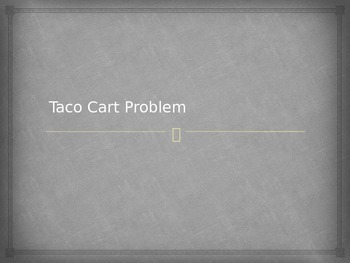 Deep Rich Task for Pythagorean Theorem - Taco Cart