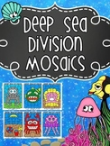 Deep Sea Division Mosaics- Color By Math Fact Fun!