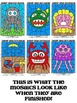 Deep Sea Division Mosaics- Color By Math Fact Fun!