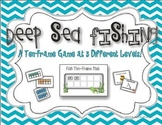 Deep Sea Fishing :  A Ten-Frame Game {Common Core Activity}