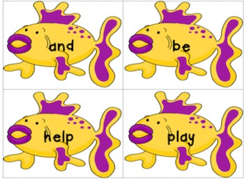 Deep Sea Fishing with Journey's High Frequency Words
