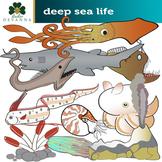 Deep Sea Life Clip Art