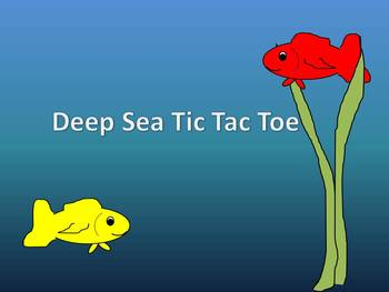 Deep Sea Tic, Tac, Toe