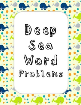 Deep Sea Word Problems