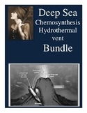 Deep Sea: Hydrothermal vents & Chemosynthesis BUNDLE with hyperlinks