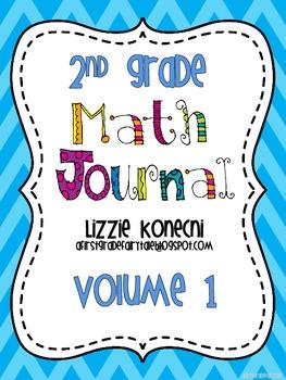 Deep Thinking Math Journal-Set 1 for Second Grade