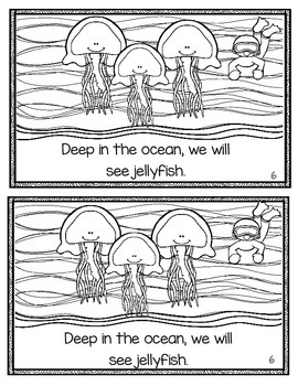 Deep in the Ocean Emergent Reader