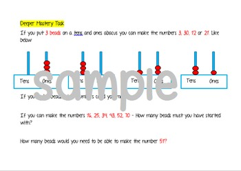 Deeper Mastery Maths Tasks