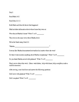 Deeper Roots Bible Study for Preteens - Martha, Lazarus' sister