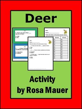 Deer Nature's Children