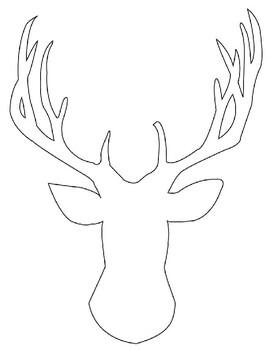 Deer Cut Out/Traceable