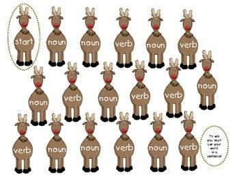 Deer Me! Noun & Verb Sort