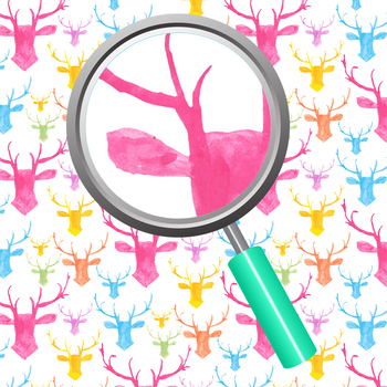 Deer Theme Watercolor Backgrouds / Digital Papers Hipster Designs Clip Art