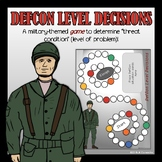 DefCon Decisions: Military themed game to practice identif