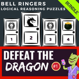 Bell Ringers for Middle School Bundle of Logic Puzzles - D