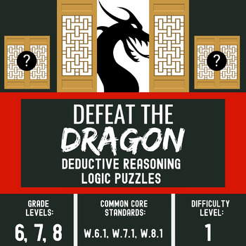 Defeat the Dragon - Logic Puzzles for Middle School