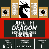 Bell Ringers for Language Arts - Critical Thinking Skills - Defeat the Dragon #1