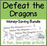 Defeat the Dragons: An Articulation Activity (Money-Saving