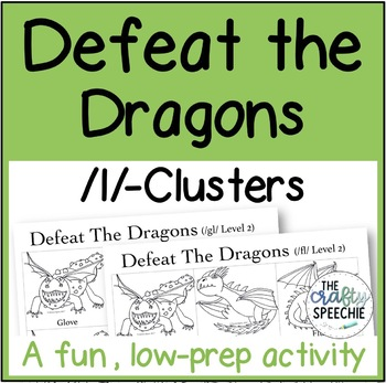 Defeat the Dragons: An Articulation Activity for /l/-Clusters