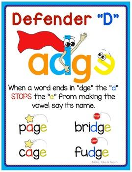 Defender D FREE Poster
