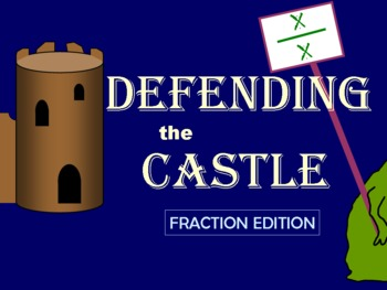 Defending the Castle: An Equivalent Fractions & Ordering F