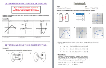 Define and Identify Functions