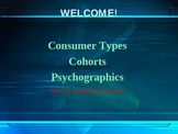 Defining Consumer Types, Cohorts, and Psychographics
