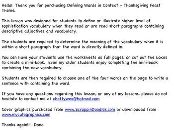 descriptive paragraph meaning