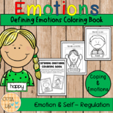 Defining Emotions Coloring Book