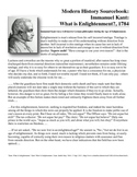 Defining Enlightenment - What is it?