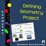 Defining Geometry Project