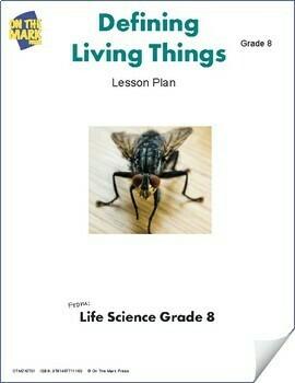 Defining Living Things Lesson Plan Grade 8