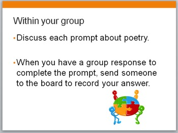 Defining Poetry -- Introductory activity for any poetry unit