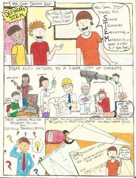 Defining STEM Comic