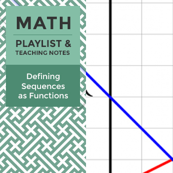 Defining Sequences as Functions - Playlist and Teaching Notes