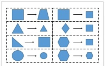 Defining and Non-Defining Attribute Shape Sort