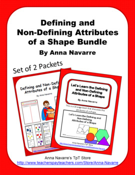 Defining and Non-Defining Attributes of a Shape Bundle