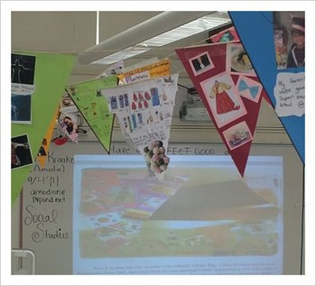 Cultural flag-start the year w/bright + positive reflections of your students!