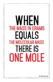 Defining the mole poster 11 by 17