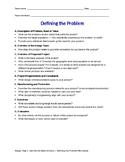 Defining the probelm