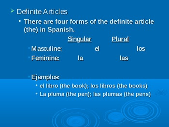 Definite & Indefinite Articles (Excellent Powerpoint Presentation)
