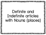 Definite and Indefinite Articles with Nouns practice