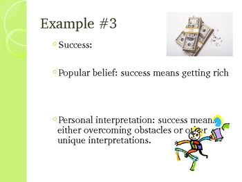 Definition Essay Powerpoint