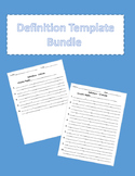Definition Template Bundle