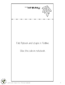 Definition of a Mineral Flipbook