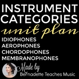 No Prep: Instrument Categories Unit