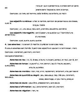 Definitions importants