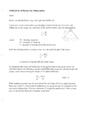 Deflection of Beams by Integration