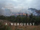 Environment: Deforestation Webquest (Environmental Science/Ecology)
