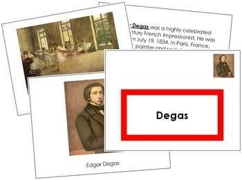 Degas (Edgar) Art Book - Color Border